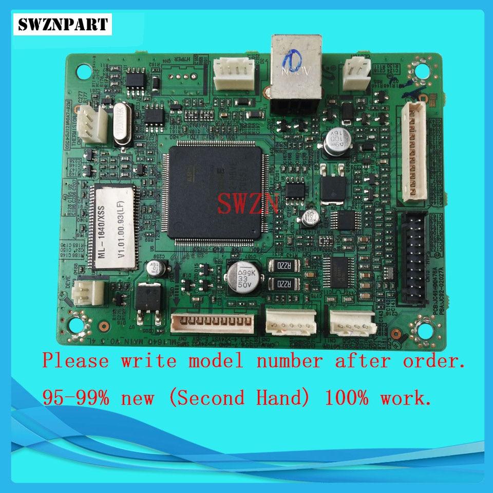 Formatter Board For Samsung ML-1640 ML 1640 ML1640 logic Main Board MainBoard mother board 100% test main board for samsung ml 2160 ml 2161 ml 2165 ml 2160 2161 2165 formatter board mainboard on sale