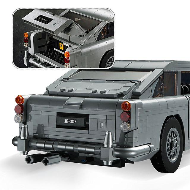 Ford Mustang Car Aston Martin DB5 Building Blocks Brick Educational  DIY Toy for Children Gift