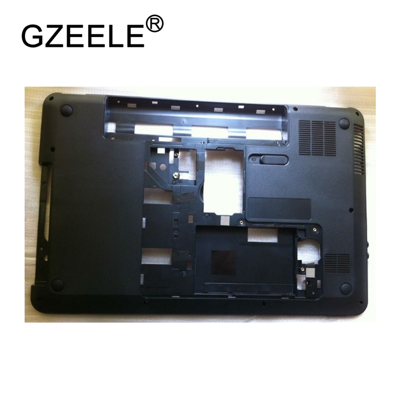 GZEELE New Laptop Bottom Base Case Cover For HP Pavilion G6 G6-1000 g6-1003TX 14 Series Part 639569-001 641967-001 lower case gzeele new laptop bottom base case cover for hp for elitebook 8560w 8570w base chassis d case shell lower case 652649 001 black