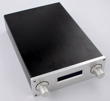 Full aluminum amplifier chassis / Pre-amplifier / AK4495 DAC Decoder case / AMP Enclosure / case / DIY box (190*65*306mm)(China)