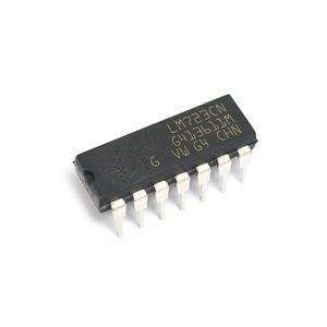 5 шт. LM723CN LM723 DIP-14 IC Adj. 2-37 в