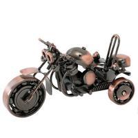 レトロ創造鉄三輪車オートバイ装飾品リビングルーム装飾オートバイモデル#30