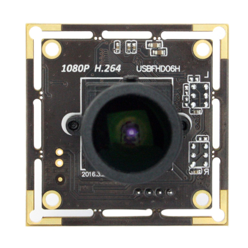 CMOS Sony IMX322 2mp 1080P usb camera module Wide angle  150 degree fisheye lens  USB board-in Surveillance Cameras from Security & Protection    2