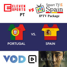 FHD Spain IPTV Portugal IPTV Subscription Sports LiveTV and VOD Series For Android TV