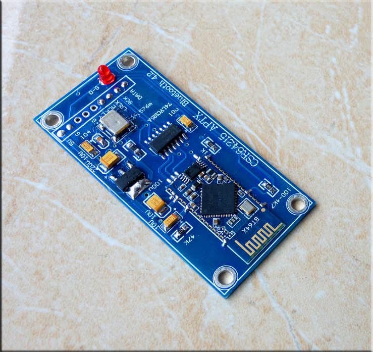 CSR64215 Bluetooth 4.2 APTX I2S Yardımcı Kurulu ES9018 ES9028 ES9038 DAC Amplifikatör DIY DC4-6V