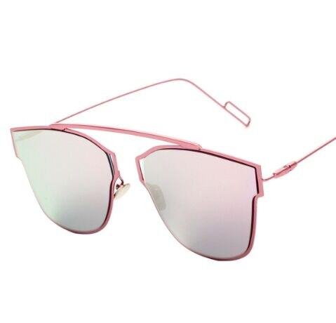 8e27fe3863 2016 nuevo sin montura gafas De Sol De espejo pierna De la aleación hombres  mujeres marca diseñador gafas frescas gafas De Sol H772 en Disfraces  fiestas ...