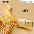 Upscale Double Sided Golden For iphone 5s 6 plus for ipad USB Cable Usb Sync Data Charger support quick charger