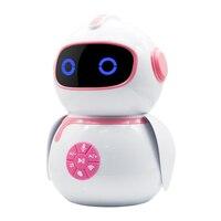 Ekslen robô inteligente máquina de educação precoce inteligente crianças ai voz interação robô wi fi brinquedo do bebê aprendizagem história máquina