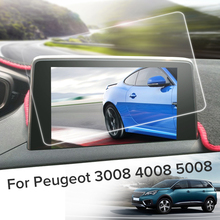 8 дюймов автомобиля gps навигации экран сталь защитный плёнки Стикеры для peugeot 3008 4008 5008 2018 2017 салонные аксессуары