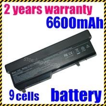 JIGU Новый 9 cell Аккумулятор ДЛЯ Ноутбука Dell Vostro 1310 1320 1510 1520 2510 для Dell N950C T114C U661H Freeshipping 9 клетки