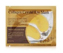 20 pack of Natural Crystal Collagen Gold Powder Eye Mask Anti-Aging Skin Care