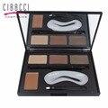 CIBBCCI Moda Profesional Polvo Kit de Cejas Enhancer con Cepillos Ceja Enhancer Paleta de Sombra Set de Maquillaje
