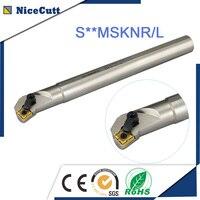 Free Shipping Internal Turning Tool Holder Lathe Boring Bar Tool Holder S20R MSKNR12 / S20RMSKNL 12 for SNMG Carbide Insert