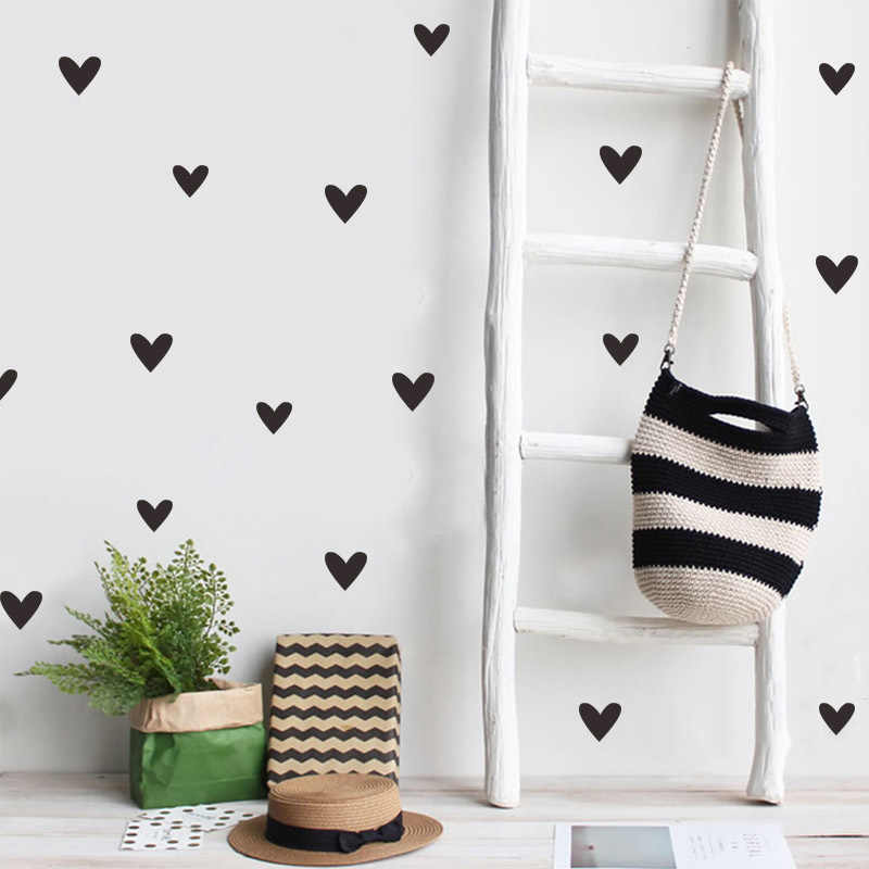 Diy Nordic Style Kids Wall Sticker Gold Sliver Black White Pink Gray Baby Bedroom Home Decor Poster Wall Stickers Aliexpress