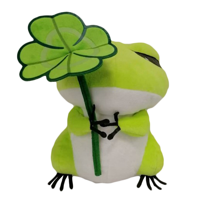 2018 Popular 13CM Cute Travel Frog Doll Frogs Stuffed Plush Toy Gift For Kids Birthday Gift Toy hot sale 16 40cm kermit plush toys sesame street frogs doll stuffed animal kermit toy plush frog doll holiday gift