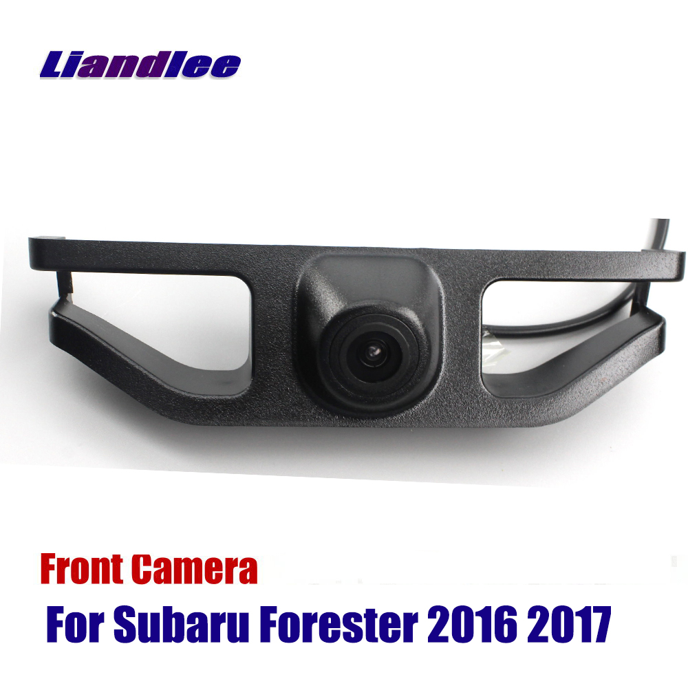 Liandlee AUTO CAM Car Front View Camera For Subaru Forester 2016 2017 ( Not Reverse Rear Parking Camera )