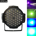 54pcs*3w Led RGBW Par Light DMX512/Auto/Sound/Master Slave Control Mode Par Light AC100-240V DJ/Fest /Bar /Stage /Party Light