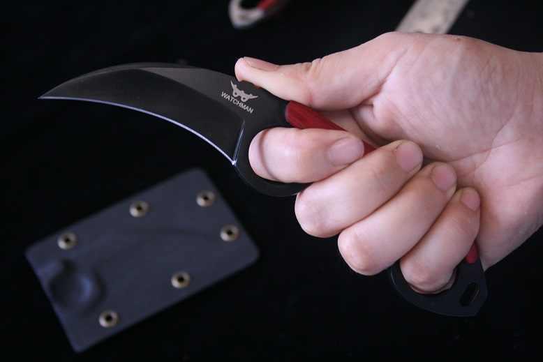 夜警爪 Karambits 固定刃の戦術狩猟ナイフ高品質ナイフサバイバル EDC ツールコレクション工場販売 MH152-A