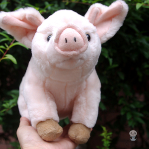 Pink Pig Doll Plush Toys Simulation Animals Toys Children Birthday Gifts For Girls