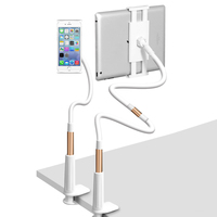 Universal Flexible 360 Degree Table Desktop Lazy Holder Mount Stand For Tablet