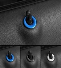 Per Mercedes Benz A GLA CLA Class W176 W246 C117 X117 Porta Dell'ascensore Serratura Decorazione In Metallo Assetto Adesivi Copertura Auto Styling