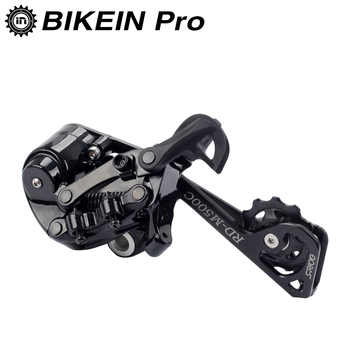 BIKEIN 11/12 Speed Mountain Bike Long Cage Rear Derailleur With Damping Black Compatible SHIMANO Cycling MTB Bicycle Parts 260g