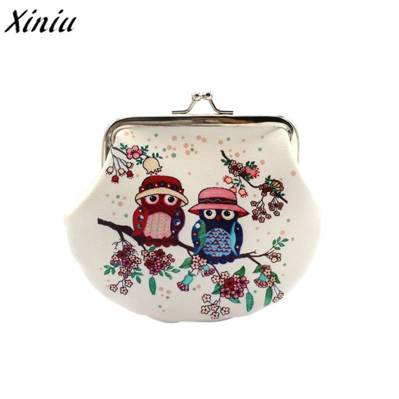 Most Popular Women Lady Retro Vintage Owl Small Wallet Hasp Purse Clutch Bag PU Leather Coin Purses porte monnaie women coin purses short coin bag female small purse patent leather clutch wallet ladies mini purse card holders porte monnaie