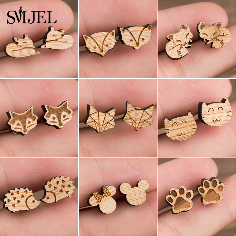 -wood earring 1