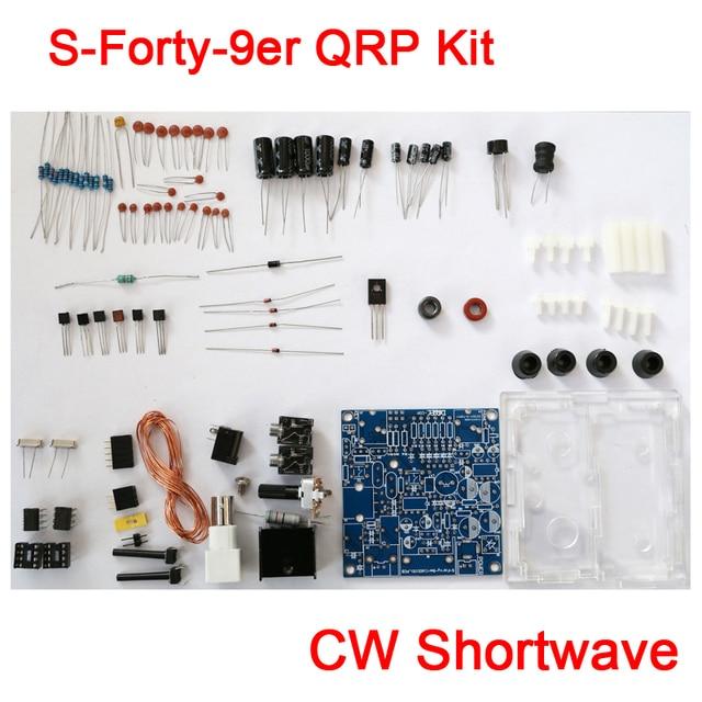 S-Forty-9er 3 Вт Радиолюбителей QRP Комплект CW Коротковолновое Радио Передачи 7.023 М без WI-FI