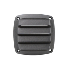 4 inch White/Black Plastic Air Outlet Marine Vent for Car Motorhome Yacht Motorboat Fishing Boat RV
