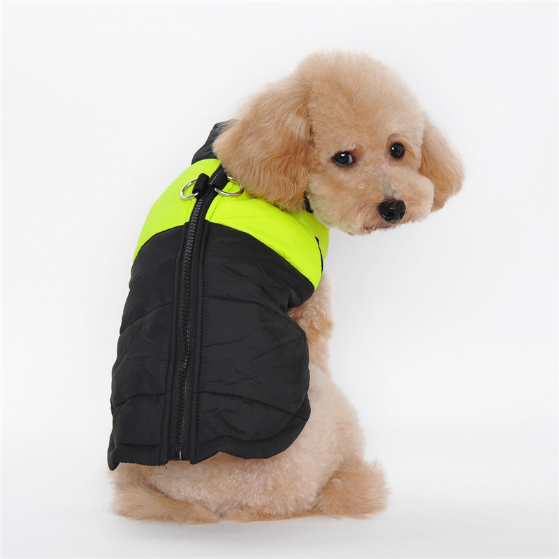 S-2XL Waterproof Pet Dog Puppy Vest Jacket Chihuahua Clothing Warm Winter Dog Clothes Coat For Small Medium Large Dogs 5 Colors