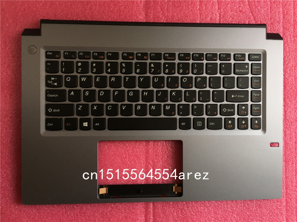 New laptop Lenovo M490S Touchpad Palmrest cover/The keyboard cover with Fingerprint Hole 90202361 cover cover pl44027 06