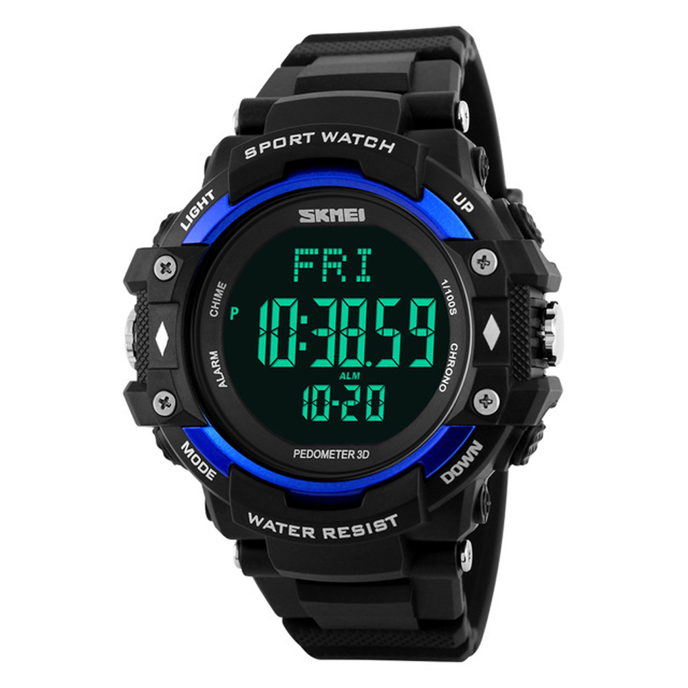 2019 Luxury Brand Mens Watch Men HeartRate Monitor Calories Digital Display Outdoor Sports Watches Reloj hombre <font><b>SKMEI</b></font> <font><b>1180</b></font> ZK30 image
