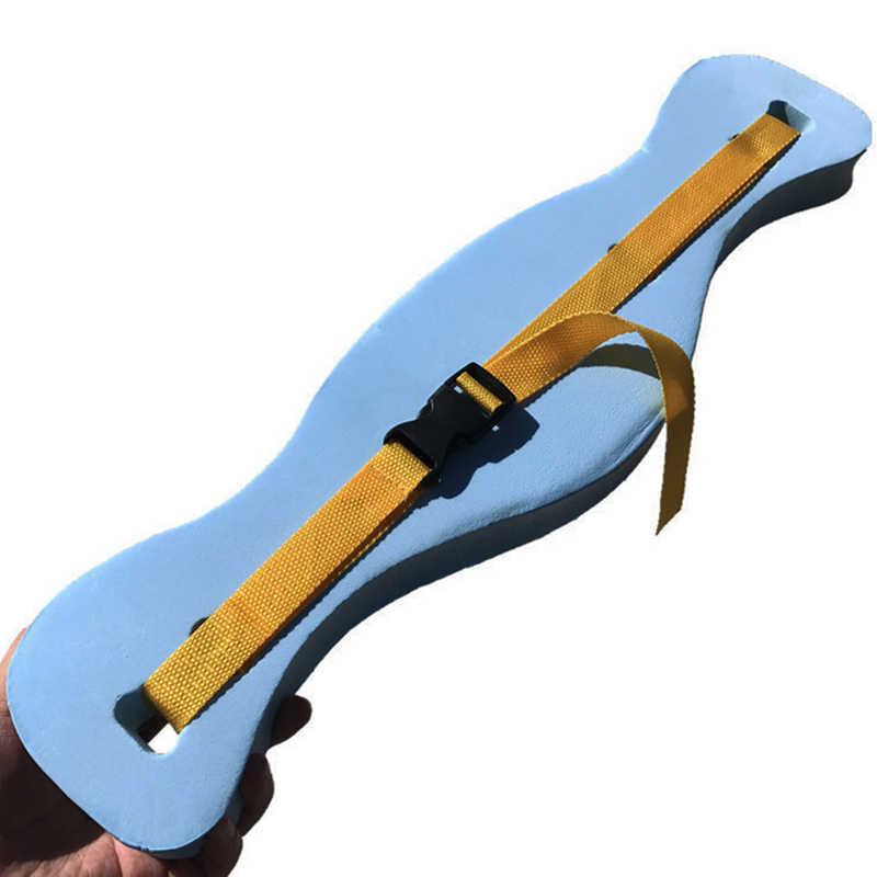 ЕВА регулируемый пояс для плавания сзади плавающая пена талии учебного оборудования для взрослых детей водные виды спорта инструмент доска-поплавок ремень