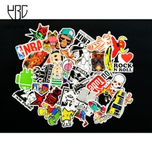 100 Pcs/Set No Repeat Stickers Personalized Cartoon Fashion Funny Graffiti Stickers Decorate DiaryNotebook Laptop  DIY Stickers