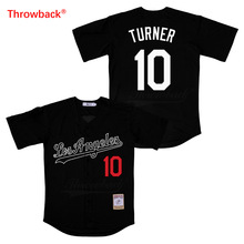 Throwback Jersey Men's Los Angeles Jersey Turner Movie Baseball Jerseys Shirt Stiched High Quality Fast Shipping new baseball jersey bruno mars 24k hooligans bet awards baseball jersey stitched men throwback baseball jerseys viva villa