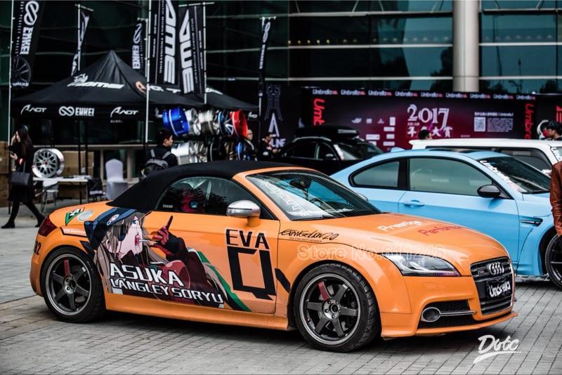 Aliexpress Com Buy Tailor Made Japanese Cartoon Car Stickers