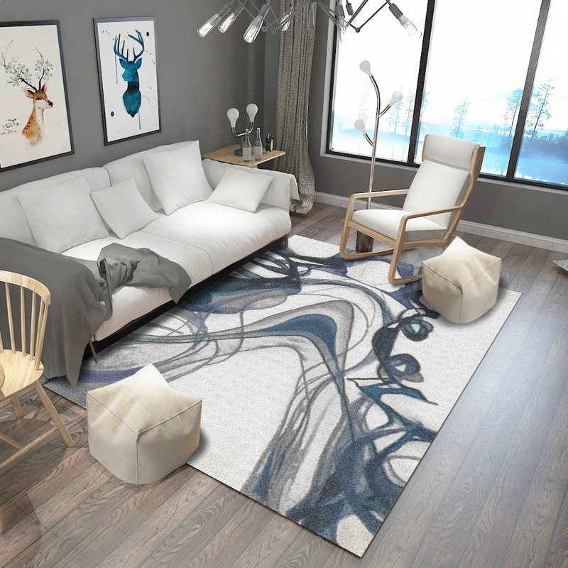 Nordic Geometric 3D Carpets For Living Room Bedroom Wilton Coffee Table Study Bedside Carpet Model Showcase Rugs Household Rug in Carpet from Home Garden
