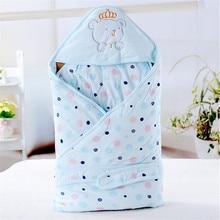 Детские хлопок камвольно пеленать обернуть мягкой конверты для новорожденных 0 — 9 мес. детское одеяло пеленальный мужская спальный мешок младенца sleepsack