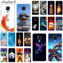 Casos de telefone Para Huawei Companheiro 20 6.53