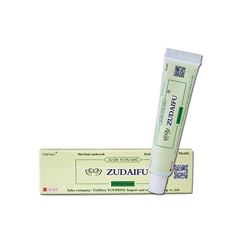 Antibacterial Ointment Creams Psoriasis Eczema Treatment Psoriasis Cream for Dermatitis ZUDAIFU Chinese Herbal Skin Care Creams image