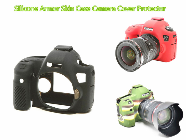 limitx silicone armor skin case body cover protector for canon eos