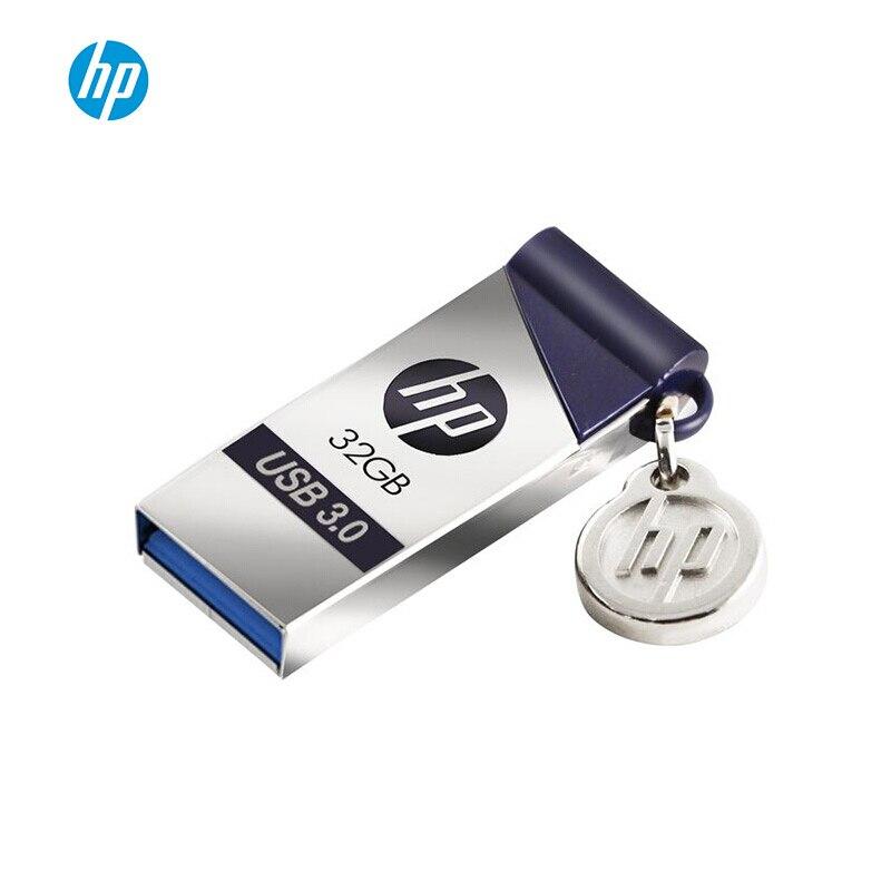 HP USB Flash 16 32 gb Pendrive gb 64 gb 128 gb X 715 W Metal Cle USB 3.0 Polegar disco Em Chave Memory Stick Pendrives Dropshipping 32 GB
