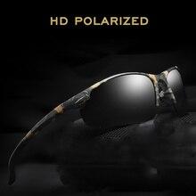 b1b244db0 Top Qualidade HD Óculos De Sol Dos Homens Polarizados 2019 Camo Do Vintage  Masculino Óculos de Sol Polaroid por homens de Visão .
