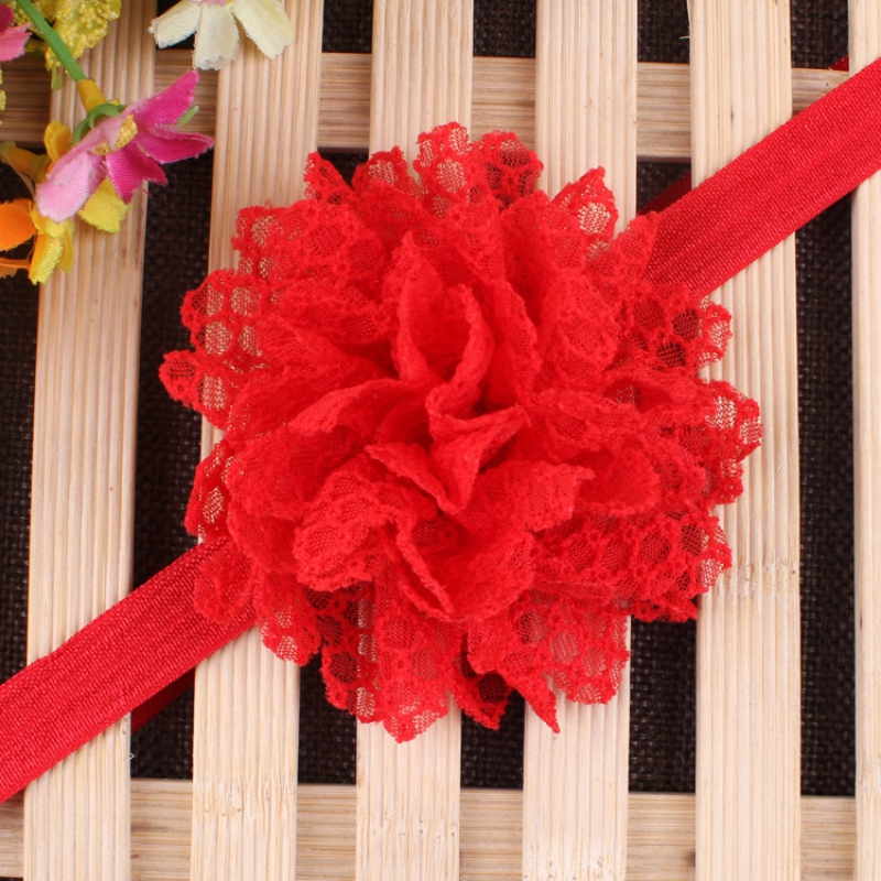 2016 <b>Infant</b> Headbands Big Lace 3D Flowers Baby Hairband Princess Girls Party Hair Accessories S2 - China Cheap Products