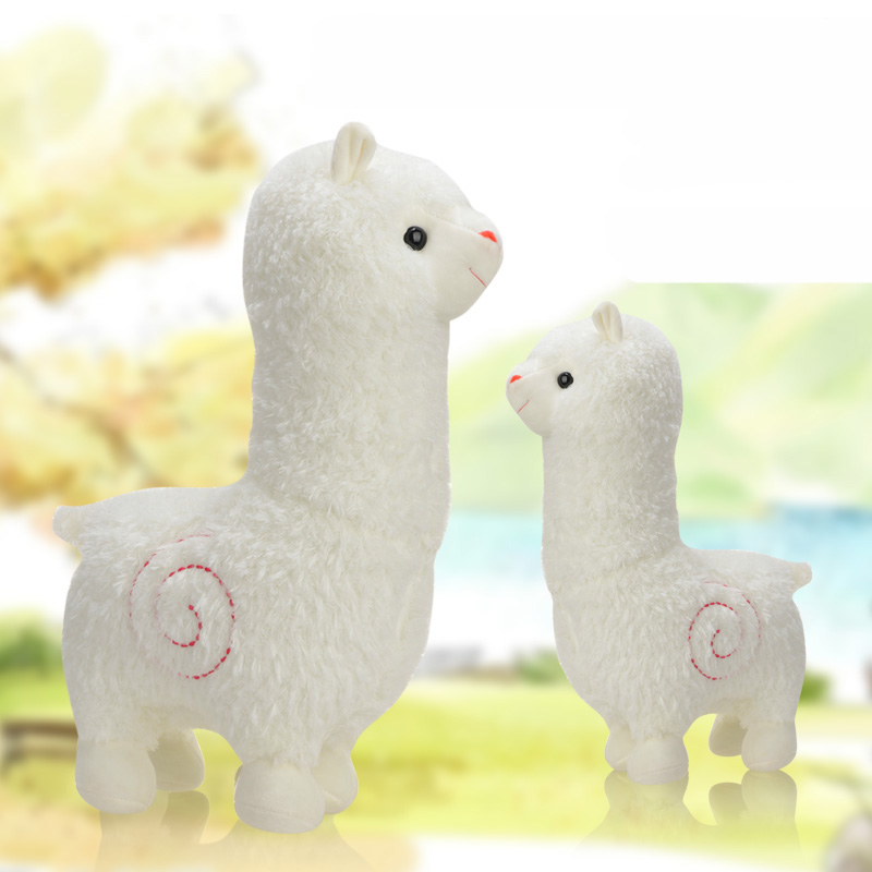 4 Kinds Alpaca Plush Toy 25 cm Dolls For Children  High Quality Soft Cotton Baby Brinquedos  Animals For Gift