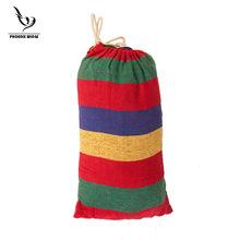 High Quality Strong Canvas Camping and camping supplies Single canvas hammock 200*80cm free shipping