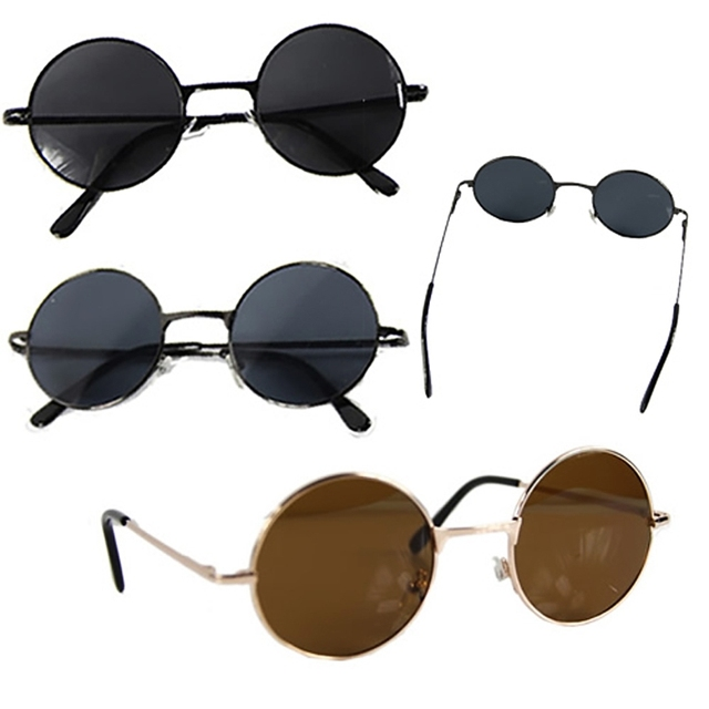 ef27626adc Fashion New Hot 1 Pc Men Retro Round Frame Lens Sunglasses Eyeglasses  Glasses Vintage Tortoise High Quality