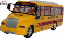 New U S School Long City Bus Classical Cars Remote Control Shool Bus 4 channel Bus