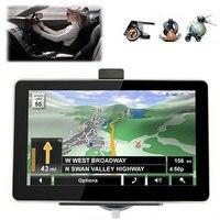 GPS Navigator 4.3 Inches Car Navigator Vehicle Navigation Sensors Map Multifunctional Digital Electronics